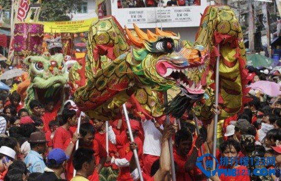 世界上华人最多的国家印度尼西亚