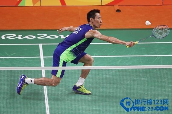 羽毛球男子单打世界排名第一的李宗伟
