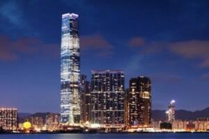 世界上最高的酒店,香港麗思卡爾頓酒店高達484米
