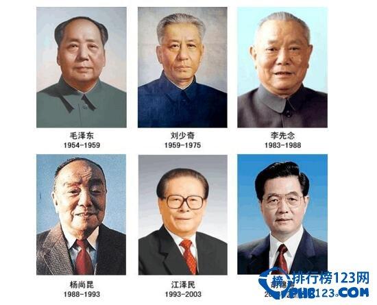 中华人民共和国主席任期 中国历届国家主席名单 国家主席的任期及任职条件(1954年-2017年)