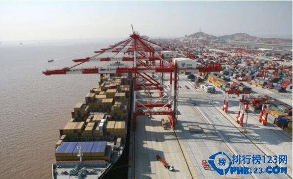 中国最大的港口:上海港口(也是世界最大的港口)