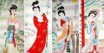中国古代四大美女,古代四大美女复原图,美爆了!