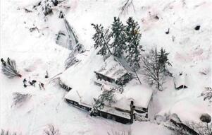 意大利地震引雪崩致35人被埋死亡(现实好莱坞灾难大片)