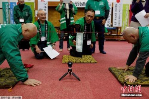 日本光头拔河赛 盘点世界趣味比赛