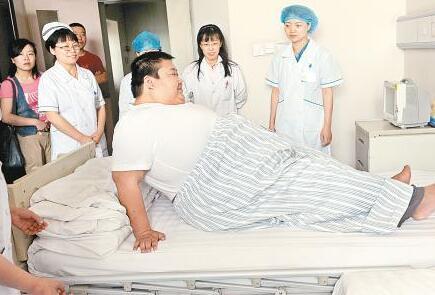 第一胖减肥回家 盘点世界上最胖的五个人