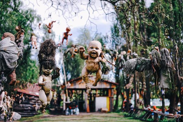 世界上最恐怖的地方 墨西哥娃娃岛