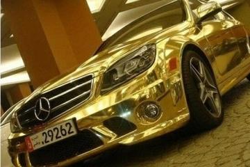 世界十大黄金跑车盘点,世界十大镀金豪车排行榜