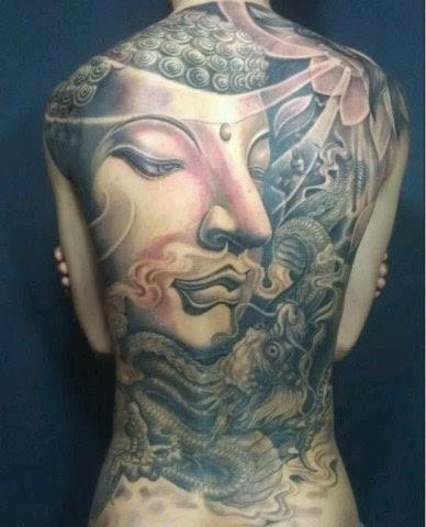 佛祖菩萨纹身图片