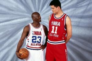 NBA历史十大最高球员:2.24米只能排第十(姚明第五)