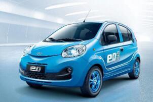 2017年6月微型车销量排行榜:知豆D2稳居头名,奇瑞eQ升至第2
