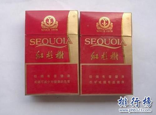 红杉树香烟价格和图片