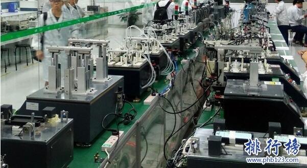 2017年1-6月全国各省市手机产量排行榜:广东省6899.85万台第一