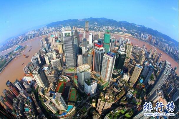 2017上半年主要省市GDP增速排行榜:重庆10.5%居首,连续十季度领跑