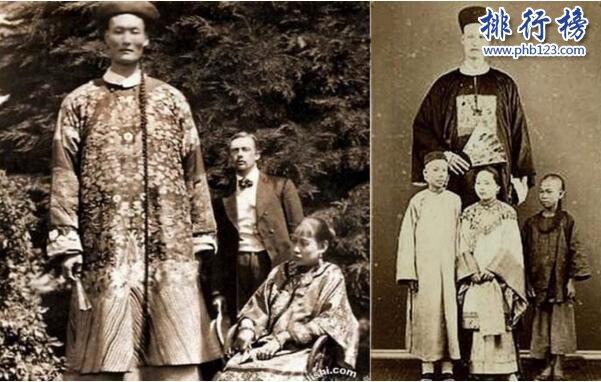 617888九五至尊最高的人是谁,清朝詹世钗身高3.19米(比篮球球筐还高)