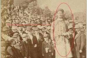 中国最高的人是谁:清朝詹世钗身高3.19米(比篮球球筐还高)