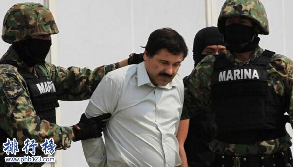 墨西哥最大贩毒集团头目乔奎恩·古兹曼:身价10亿美元,影响力超总统