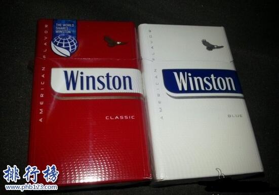 Winston(云斯顿)烟图片,美国云斯顿香烟价格排行榜(10种)