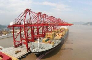 2017年一季度全球港口货物吞吐量排行榜:宁波港居首,上海港第二