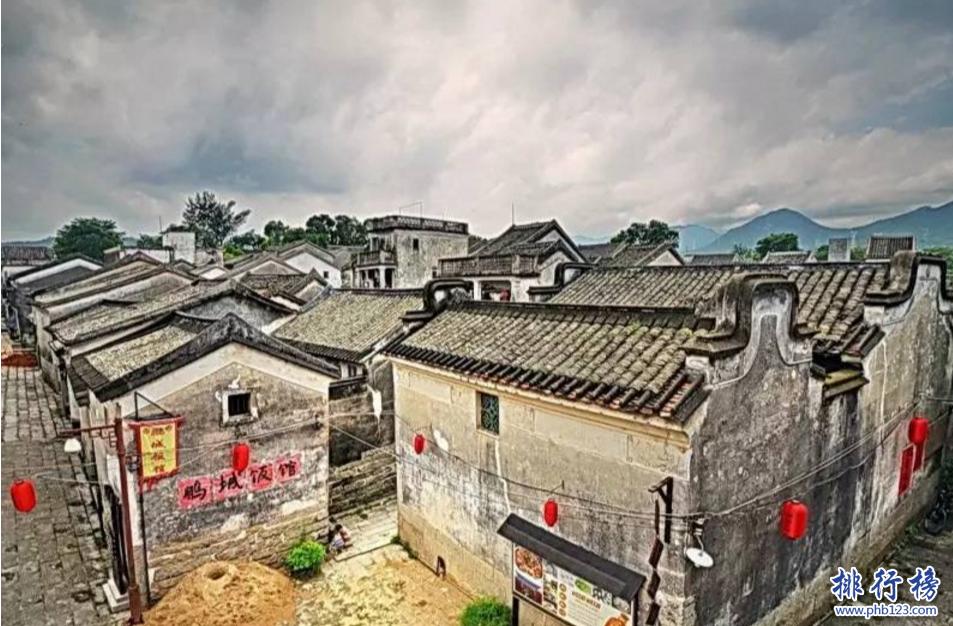 最美广东十大古镇排名,广东哪个古镇最好玩?