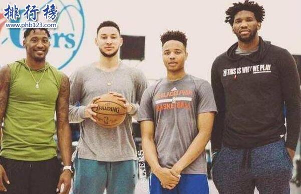2017-2018赛季NBA76人球员名单,201876人首发阵容(完整版)
