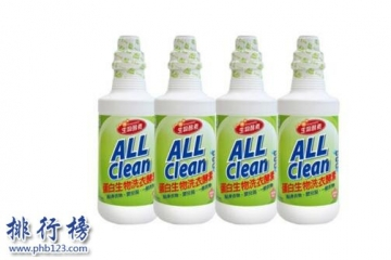世界十大洗衣液品牌排行榜 不含荧光剂的洗衣液推荐