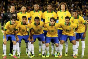 FIFA排名2017最新排名,巴西重返世界第一国足第77