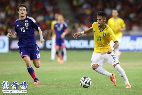 FIFA排名2017最新排名,巴西重返世界第一,国足第77