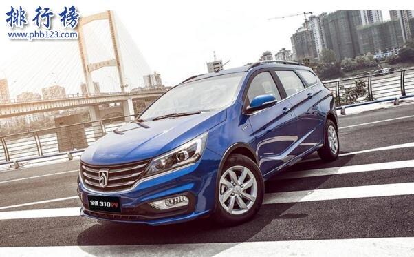 2017年8月小型车销量排行榜:宝骏310月销1.4万夺冠,环比大增60%