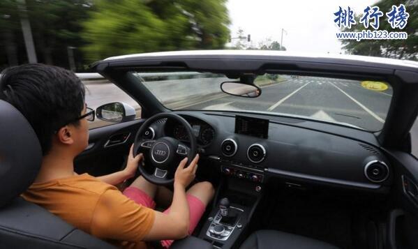 奥迪最便宜的跑车:奥迪A3敞篷版Cabriolet(售价不到37万)