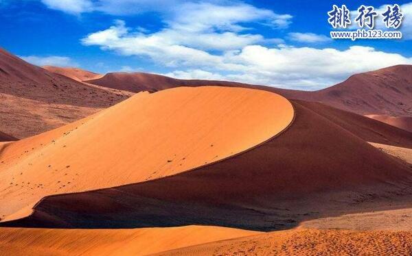 世界上最高的沙丘:苏丝斯黎沙丘(高达325米)