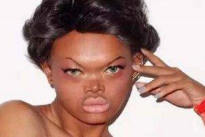 世界上最丑的模特:泰国模特Maeya(丑到不忍直视)