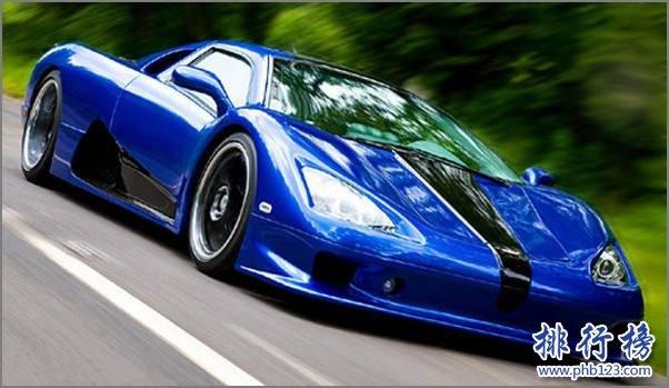 世界上最快的跑车排名:西尔贝SSC Tuatara一骑绝尘(时速443km/h)