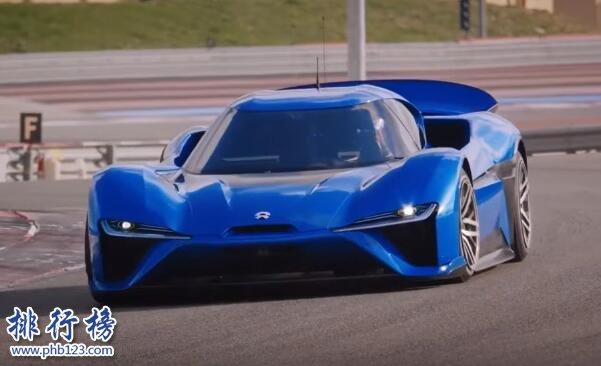 世界上最快的电动跑车:蔚来EP9(最高时速313km/h)