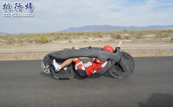 世界上最快的自行车:加装火箭喷射,急速可达263km/h
