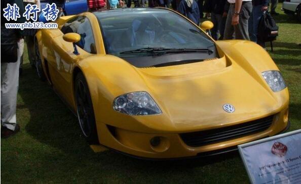 大众最快的车是什么 大众W12时速350公里/小时(创六项世界记录)