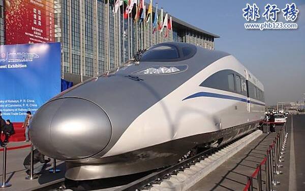 世界上最快的火车排名:中国CIT500列车时速达605公里,堪比民航