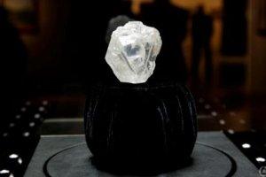 全球最大原钻:1109克拉 价值3.5亿人民币