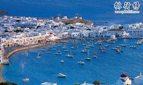 世界上最美的海:希腊爱琴海(浪漫旅程的象征)