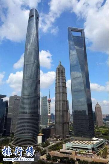 中国最高的楼:H700深圳塔739米超越上海中心大厦