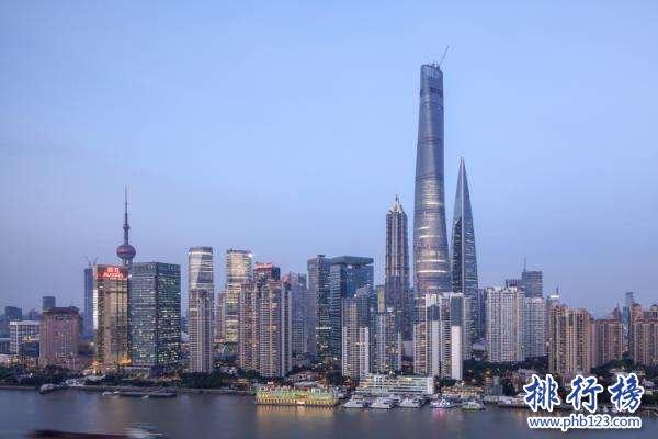 上海最高的楼叫什么,上海中心大厦(632米)