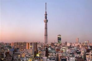 世界上最高的铁塔:东京晴空塔(634米)
