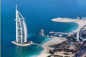世界上最高的酒店:阿拉伯塔酒店321米,世界唯一七星级酒店