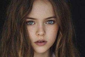 世界上年龄最小的超模:Glikeriya俄罗斯9岁高颜值超模