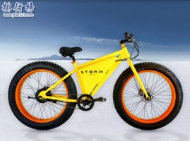 Storm eBike自行车,电动自行车中的巨无霸(重20公斤时速80公里)