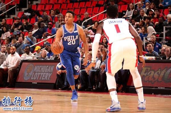 2017-2018赛季76人2月赛程表,NBA费城76人2月日程表