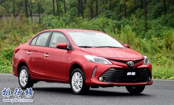 丰田10万左右的车排行榜,丰田10万左右性价比最高的车型
