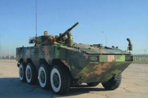 世界上最强的两栖战车:中国VN18步兵战车(水中航速30km/h)
