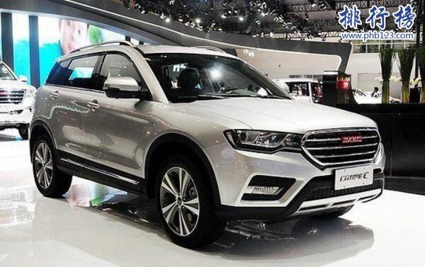 2017年10月国产SUV销量排行榜:宝骏510紧追哈弗H6,博越销量超3万