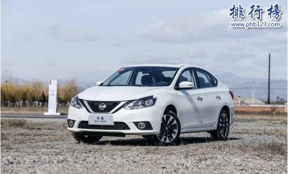 2017年10月合资轿车销量排行榜:日产轩逸险胜桑塔纳夺冠
