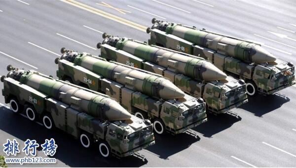 东风21d反舰弹道导弹世界排名,世界上最可怕的导弹